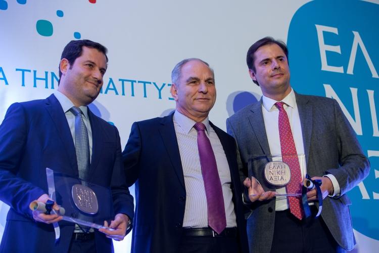 Ο Έπαινος Εταιρικής Κοινωνικής Ευθύνης του ΣΒΒΕ στην Ελληνικός Χρυσός