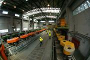 Στο Εργοστάσιο Εμπλουτισμού της Ολυμπιάδας εν ώρα εργασίας