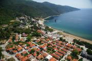 Οι εγκαταστάσεις της Ελληνικός Χρυσός στην παραλία Στρατωνίου